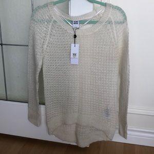 🔥🔥Vera MODA white open knit sweater